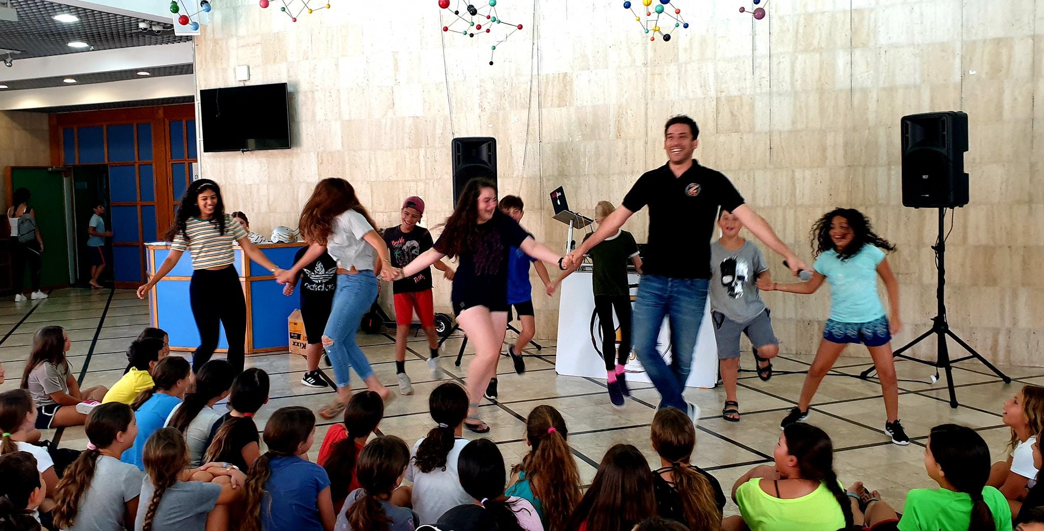 מסיבת ריקודים לילדים